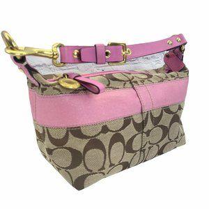 Coach Mini Baguette Pink Purse